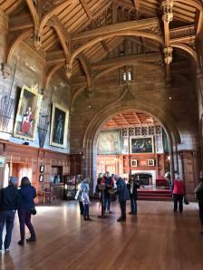Inside Bamburgh Castle